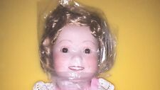 IDEAL AMERICA'S SWEETHEART SHIRLEY TEMPLE DOLL  PORCELAIN #897