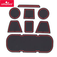 Anti-Slip Gate Slot Cup Mat for TOYOTA 86 Subaru BRZ 2012 - 2020 Accessories Pad