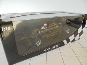 MINICHAMPS  JPS LOTUS FORD 79 1:18. MARIO ANDRETTI #5 F1 WORLD CHAMPION 1978.