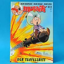 Mosaik Abrafaxe 412 | April 2010 | (DDR) Sammler ZS 1 | Der Teufelsritt A