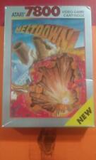 MELTDOWN * Original NEW SEALED 1990 * Atari 7800 *, READ BEFORE PURCHASING!