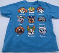 Nickelodeon Paw Patrol Toddler T-Shirt Size 2T Blue Chase Skye Everest Rubble