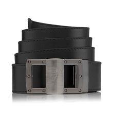 Versace Collection * Männer Gürtel Men`s Belt Leder Lether Schwarz Medusa * Neu