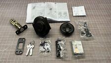 NEW Kwikset Montara Smartkey Venetian Bronze Top Deadbolt Door Lock & Kit ONLY