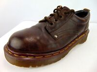 Dr. Martens Boots Women's USA Size 7 UK 5 Brown Leather Lace Up Chukka Ankle