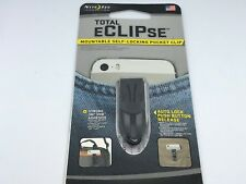 Nite Ize Total Eclipse Mountable Self Locking Pocket Clip Belt Clip Apple Samsug