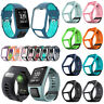 Replacement Silicone Watch Band Strap ForTomTom Runner 2&3/Golfer 2/Spark 3 DX
