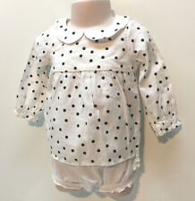 Old Navy Baby Girl Cotton Fall Winter Dress & Diaper Cover-up Size 6-12 Months