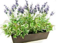 65cm Wide Artificial Purple Lavender Arrangement ~ Display Planter