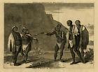 Antique Print-KHOIKOI PEOPLE-HOTTENTOT-SOUTH AFRICA-DAPPER-VAN DER AA-Anonymous-