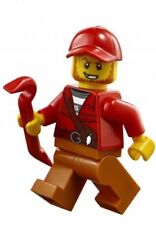 LEGO City Mountain Police - Crook/ Bandit minifigure - NEW from 60170 cty831