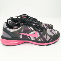Womens Nike Dual Fusion TR Running Shoes Sneakers Trainers US 7.5 Pink/Black