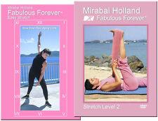Yoga Exercises Stretch & Core Workout 2 DVD Set by Mirabai Holland, MFA