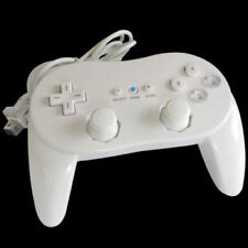 Classic Wired Controller Pro Game Remote For Nintendo Wii White NEW