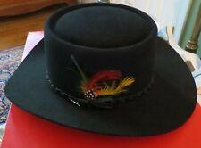 Stetson Revenger Hat Chocolate sz 7  -- 3X Beaver - worn once!!