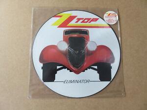 ZZ TOP Eliminator WARNER BROS.ORIGINAL 1985 UK PICTURE DISC LP W3774P