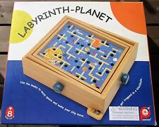 Space Ship Labyrinth Planet Maze Ball Puzzle Game Wood Balance