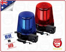 LED Flashing Party Warning Light BLUE/RED Rotating Speed & Flash 12v Big NG-327