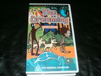 THE DREAMING BEGINNINGS RARE FIIND~VHS PAL VIDEO~