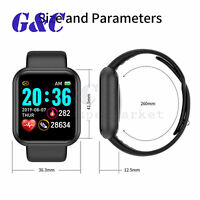 Waterproof Bluetooth Smart Watch Phone Mate For iphone IOS Android Samsung