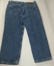Tommy Hilfiger Womens Jeans Size 8 Blue Denim Cropped Short Petite Inseam 25