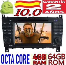 ANDROID 10.0 MERCEDES-BENZ C CLASS/ CLC W203 COCHE GPS RADIO DVD 4GB RAM WIFI SD