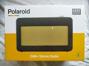 Polaroid PLA20AA007A Retro Style DAB+ Stereo Radio - BNIB New & Sealed