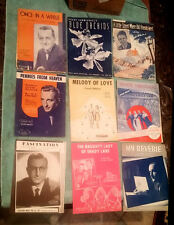 36 Lot - Vintage 1st Edition Sheet Music ~ Famous Composers & Performers ~ Lot B