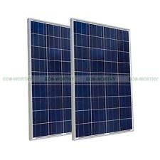 200W Solarzelle 2x 100W 12V PV  Solarmodul Solarpanel for off Grid Power Charge
