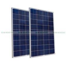 200W Solarzelle 2x 100W 12V PV  Solarmodul Solar Panel for off Grid Power Charge