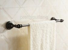 Bathroom Accessory Wall Mounted Oil Rubbed Bronze Single Towel Rail Bar Pba823