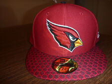 buy online 5ba40 4fc3d  22.95 New. Era Arizona Cardinals 59fifty on Field Sideline Fitted Hat Red  Size 7 3 8