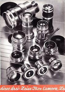 Zeiss Ikon Contax Brochure - 1937