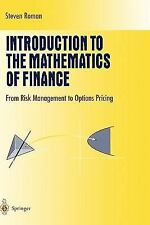 Introduction to the Mathematics of Finance: From Risk Management to Options Pric