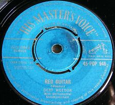 "Bert  Weedon  China  Doll  /  Red  Guitar  1961   7""   Vinyl   Single   Pop  946"