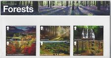 GREAT BRITAIN 2019 FORESTS PRESENTATION PACK UNMOUNTED MINT, MNH