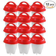 Egg Cooker Hard Boiled Eggs without Shell 12Pcs Egg Silicone Cup US