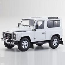 KYOSHO 1/18 Land Rover Defender 90 Diecast Model Car White (08901FW)