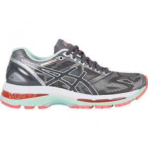 ASICS | GEL-Nimbus 19 Running Shoes in Carbon/White/Coral – Size 7