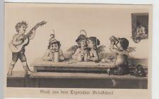 (101037) Foto AK Gruß aus dem Tegernseer Bräustüberl