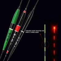 1X LED Light Fishing Float Night Luminous Fishing Floats Automatically Remi V7F6