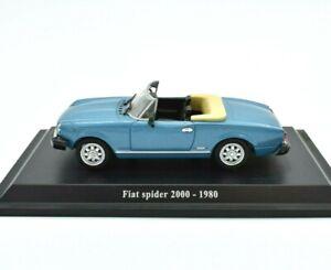 Miniature voiture Fiat Spider 2000 auto 1/43 diecast NOREV Modélisme Véhicules