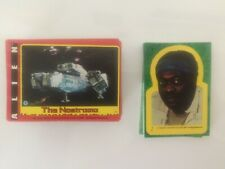 1979 Topps Alien The Movie Trading Card Set  (84) Plus sticker set (22)
