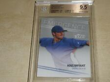 2013 Rize Draft Emergence #2 Kris Bryant RC BGS 9.5 GEM MINT