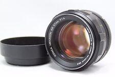 Konica Hexanon AR 57mm 1:1.4 Lens w/Hood #J017b