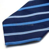 Men's Skinny Jacquard Woven Striped Casual Suit Wedding Suit Necktie Neck Tie