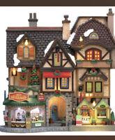 "RARE LEMAX  ""River Moor's Festival "" 3D - Christmas Village Essex New NIB !!"