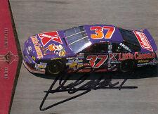 John Andretti (estados unidos) NASCAR IndyCar original firmado/signed!!!