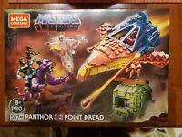 Mega Construx Masters of the Universe Panthor Point Dread Building Toy Set MOTU