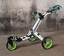 Golftrolley Yorrx® SL Pro 7 HAMMA PLUSSET *lime-green* 360° TOP SPIN